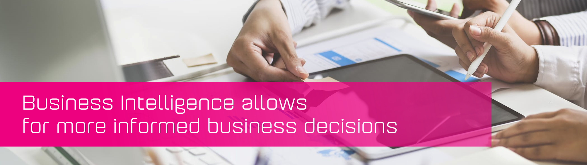 KCS SA - Blog - Business Intelligence for decisions banner image