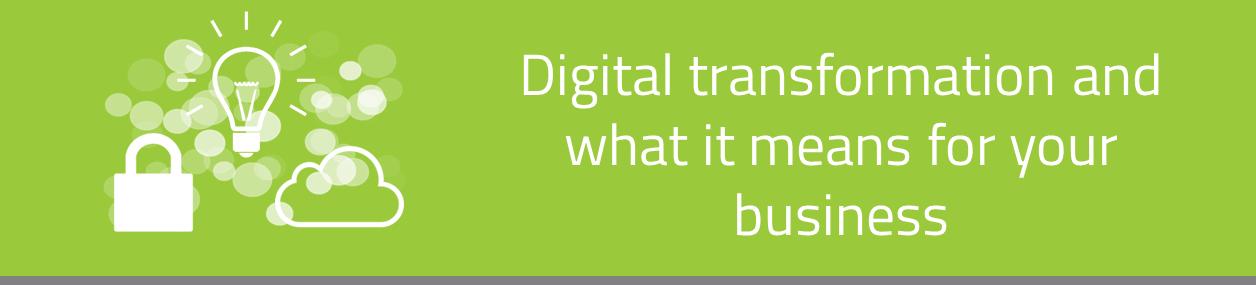 KCS SA - Blog - Digital transformation