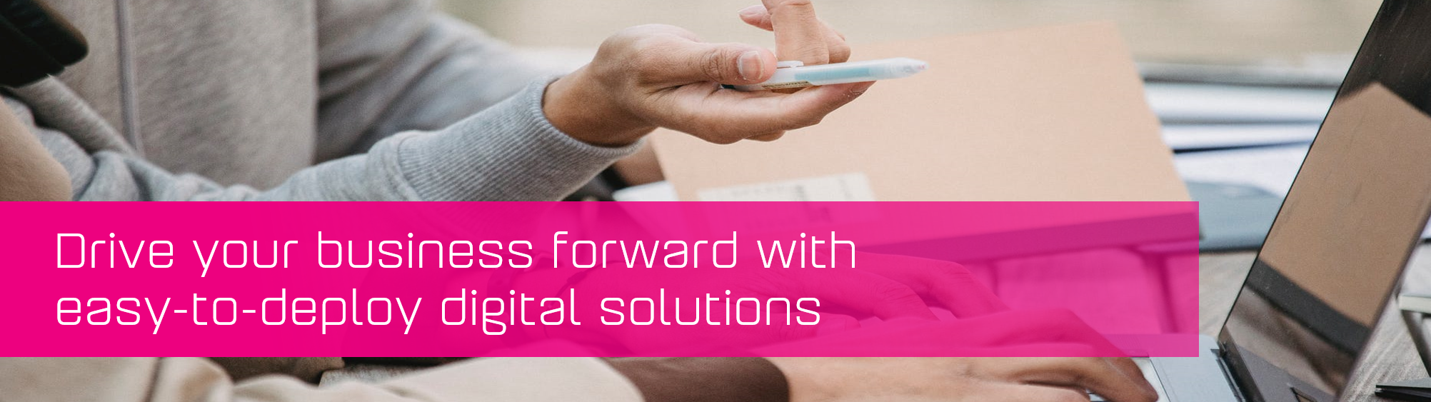 KCS SA - Blog - Drive your business with digital solutions banner