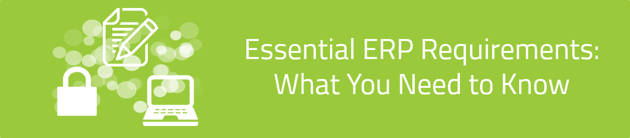 KCS SA - Blog - Essential ERP Requirements