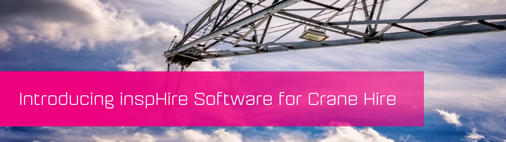 KCS SA - Blog - Insphire Software for Crane hire