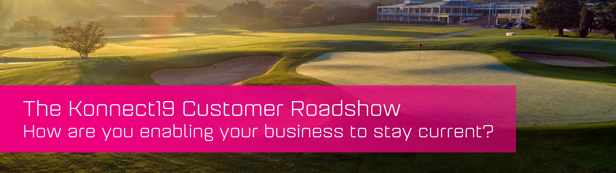 KCS SA - Blog - Konnect19 Customer Roadshow banner