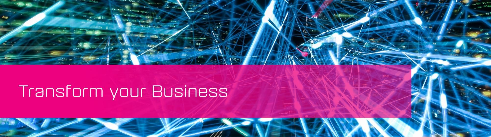 KCS SA - Blog - Transform your business banner